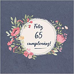 Feliz 65 Cumpleaños: El libro de firmas evento   Libro De ...