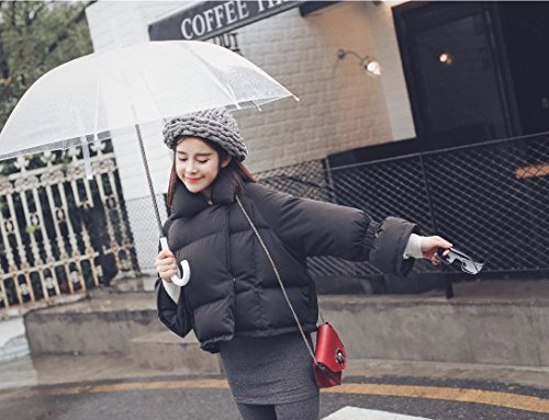 Cotton 'S Coat Black Cotton Cotton Coat Coat Xuanku Women Short Coat Coat Winter dxA1dw