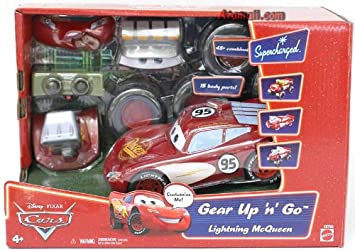 L5793 Cars Go Gear Voiture Véhicule Mattel Up Disney Lightning Miniature 'n Mcqueen 7bfgYv6y