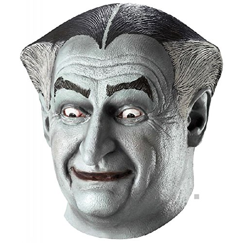 Grandpa Munster Mask The Munsters Adult Old Man Vampire Halloween Costume (Grandpa Munster Halloween Costume)