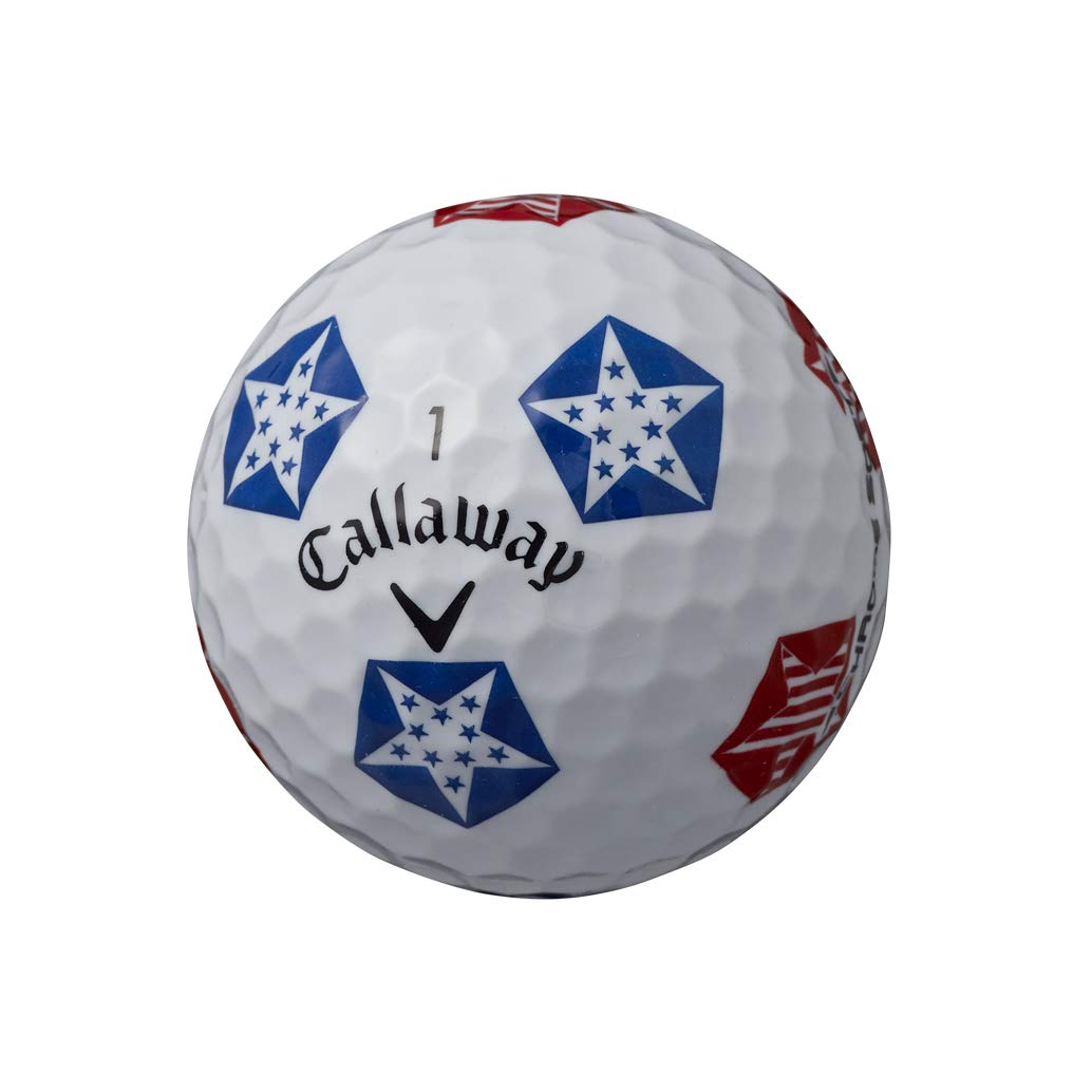 Callaway Golf Chrome Soft Truvis Golf Balls, (One Dozen), Stars and Stripes (Limited Edition) by Callaway (Image #3)