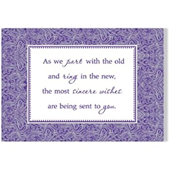 Amazon.com : Designer Greetings New Year\'s Boxed Cards (125-00662 ...