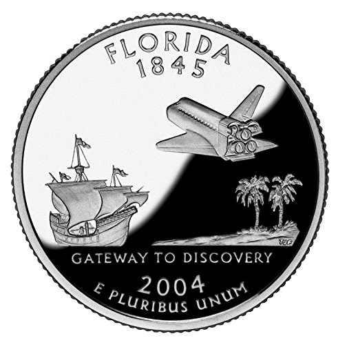 2004 Florida - D State Quarter Roll
