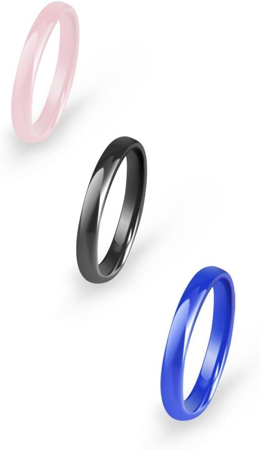 2mm Anillo de Acero de plata liso de moda banda de boda Suave Cómodo HAZLO TÚ MISMO Joyería