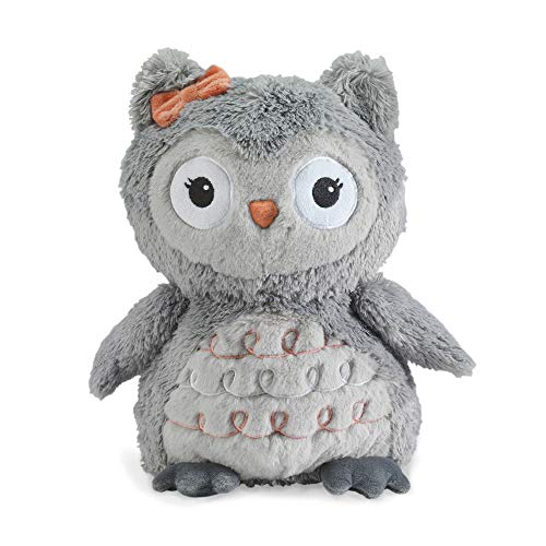 (Lambs & Ivy Family Tree Gray Plush Owl Stuffed Animal 10