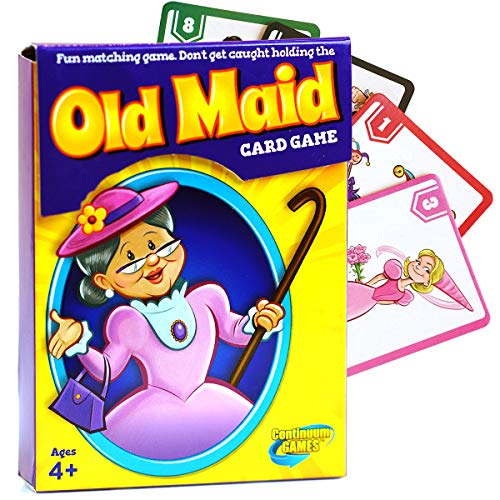 Continuum Games Old Maid Classic Card Game - Fun for Children Age 4 & up ()