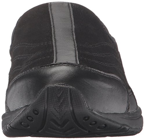 Easy Spirit Womens TRAVELTIME234 Mule Black/Black Leather
