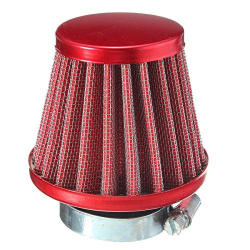 cococina 125cc motor filtro de aire limpiador suciedad Pit Bike Mini Motocross SDG KLX SSR KTM, Rojo
