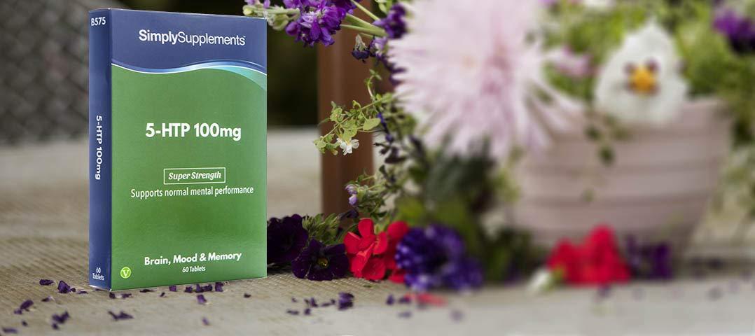 5-HTP Triptófano 100 mg - 60 comprimidos - Aminoácido esencial para el estado de ánimo - SimplySupplements: Amazon.es: Salud y cuidado personal
