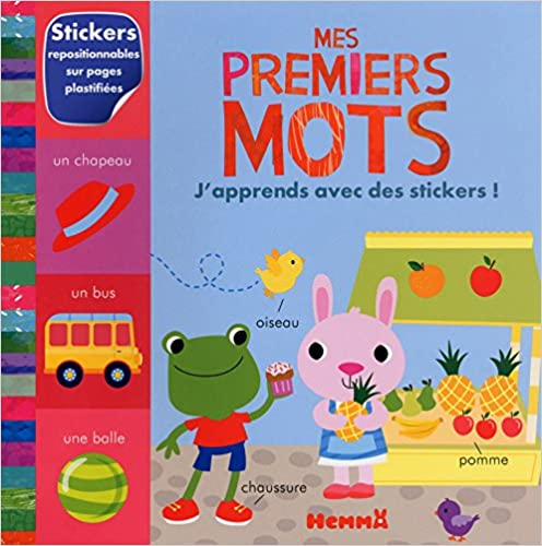 Lire un Mes premiers mots - J'apprends avec des stickers ! pdf