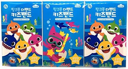 51Xac1oaqZL. AC - Pinkfong Baby Shark Kids Band-Aid 16 Ea 3 Pack