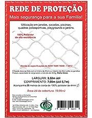 Kit rede/Tela de Proteção Branca - 19,95m2