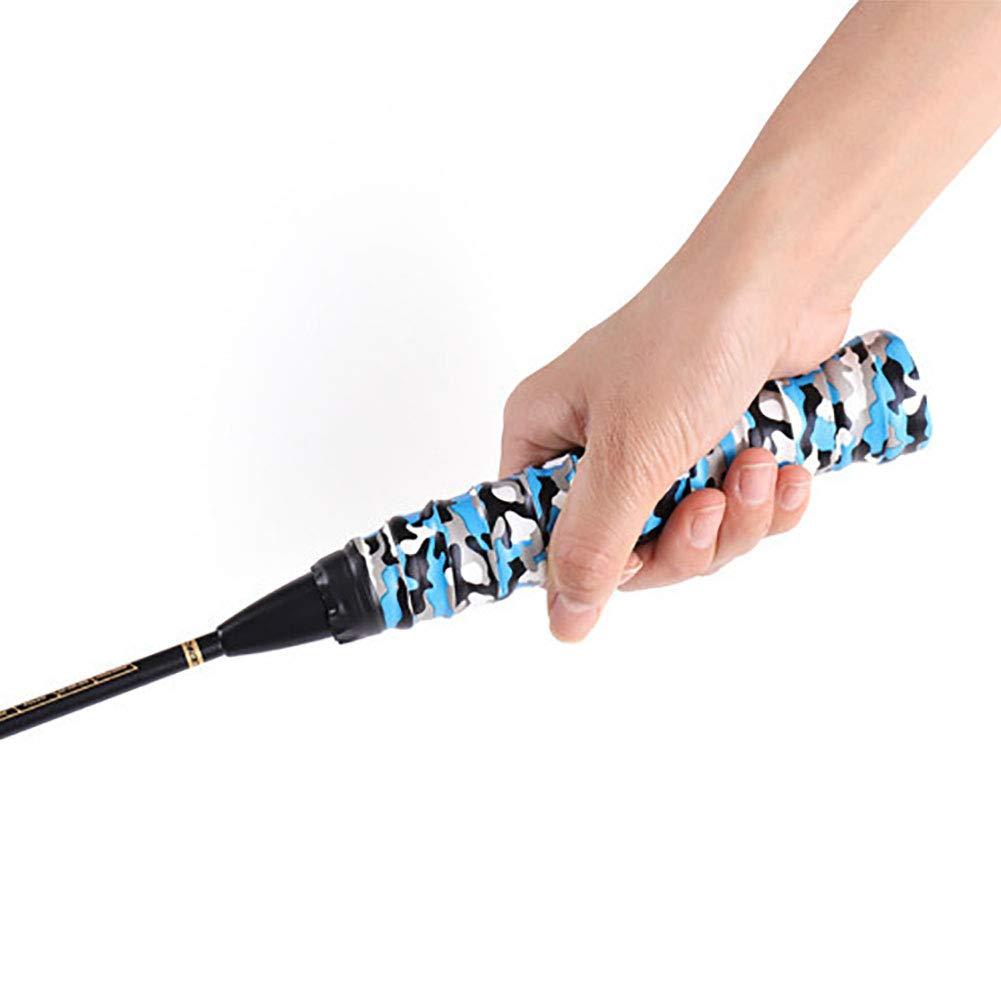 rycnet Raquette antid/érapante pour Badminton et Squash Motif Camouflage Multicolore