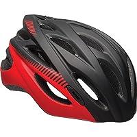 BELL Quest Casco de Bicicleta, Negro/Rojo