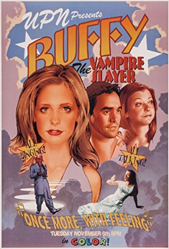 Art's (24x36) Buffy The Musical Poster Large 24 x 36 inches 61x91.5cms
