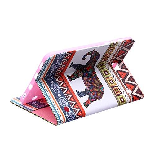 MACOOL PU cuero caja de la carpeta cubierta de la caja de la bolsa en el libro de estilo de silicona de nuevo caso de la pintura del color del teléfono móvil concha protectora Patrón Caja Cubierta de  05HUA