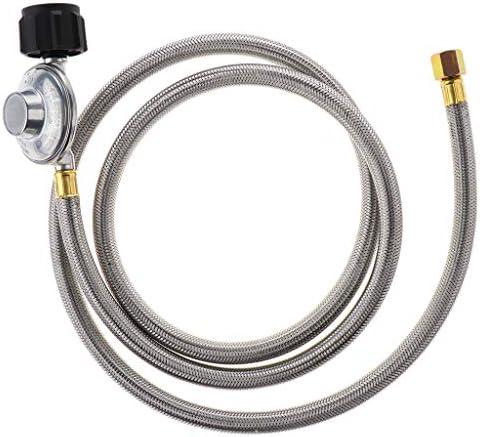 Tuyau à gaz avec connecteurs 5 m plomberie Gaz Torches Silverline 522597