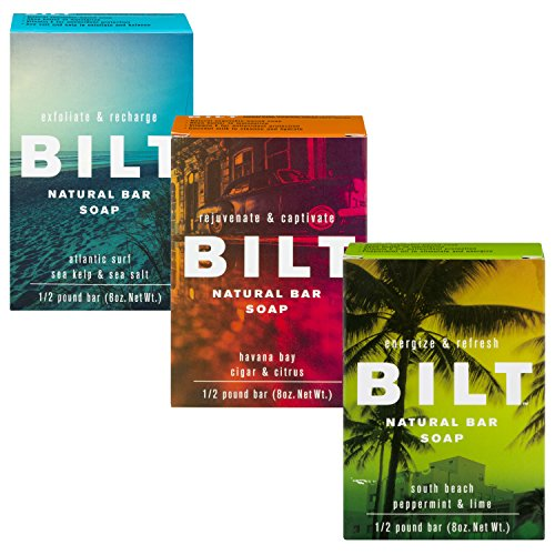 BILT Natural Bar Soap for Men