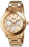 Fossil ES2859 - Reloj analógico de cuarzo para hombre con correa de acero inoxidable, color rosa
