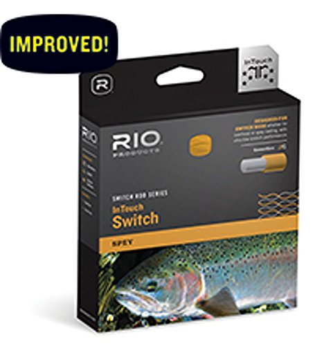 RIO Fly Fishing Fly Line InTouch Switch Chucker 8 Fishing Line, (Spey Multi Tip)