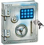 "Toys : Peaceable Kingdom Vault Door 6.25"" Lock and Key, Lined Page Diary for Kids"