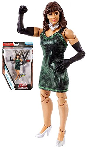 Kids Playtime Fun Indoor WWE Diva Then & Now Forever Miss Elizabeth Wrestling Action Figure 6'' With Dress by Toy