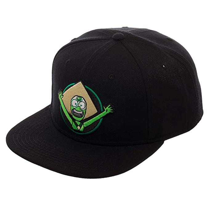 Image Unavailable. Image not available for. Color  Bioworld Steven Universe  Peridot Snapback Hat 0596c33d377
