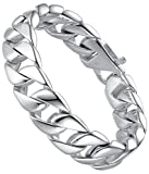Aoiy Men's Stainless Steel 16mm Curb Chain Biker Review and Comparison