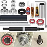 E-cowlboy Bearing & Seal Kit with Tool Fit Whirlpool W10435302 & W10447783 Washer Tub Bearing Installation & Removal Tool Complete Package (19 Pcs)