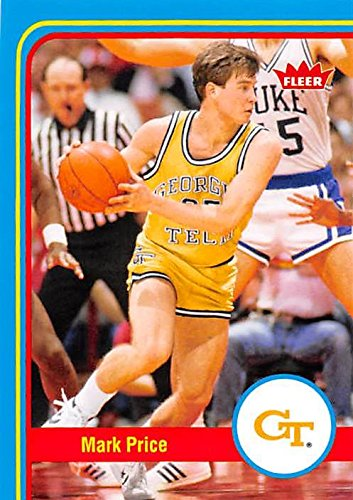 Mark Price Basketball Card (Georgia Tech Yellow Jackets) 2013 Fleer Retro #35