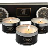 Caitlins Home Scented Candles Aromatherapy Gift Set 3 pack