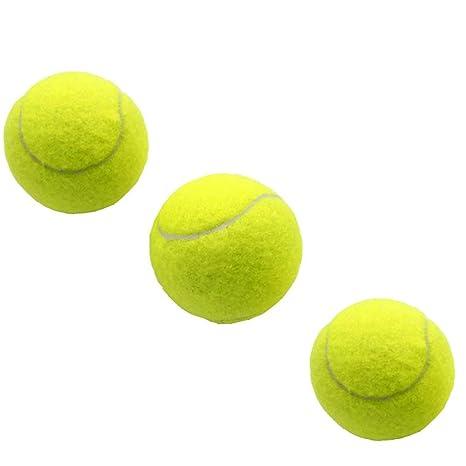 Limeo Pelota de Entrenamiento Profesional de Tenis Pelota de Ejercicio de Tenis Pelotas de Tenis Pelotas