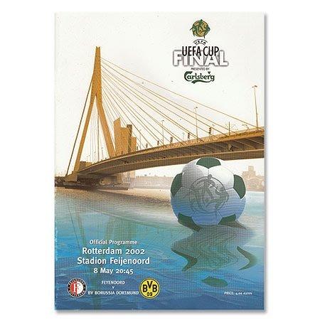 Feyenoord VS Borussia Dortmund final de la Copa UEFA en Rotterdam 8. Mayo 2002