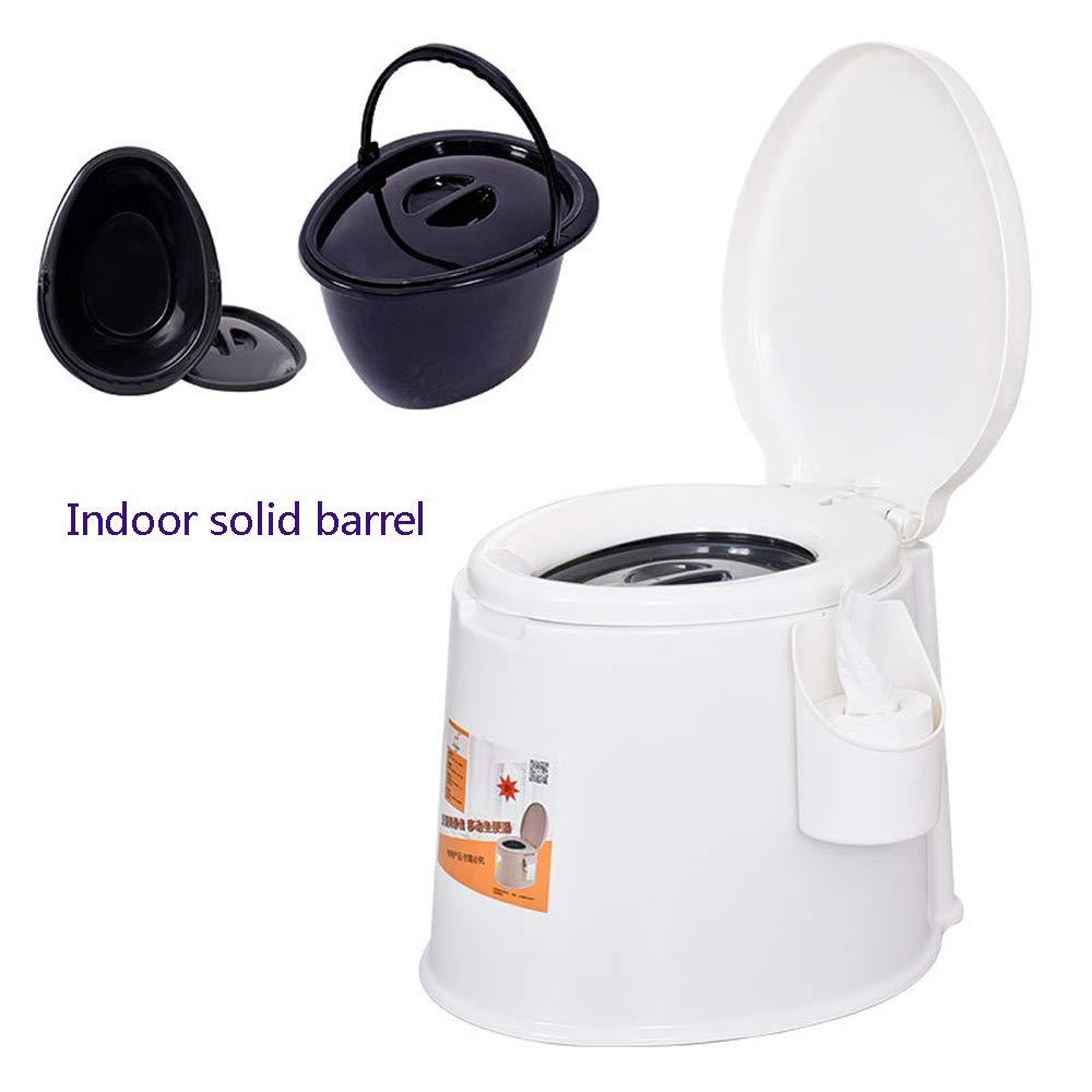 Bewegliche Toilette, Die Starken Rutschfesten Entfernbaren Toilettentoilettenschwangerfrauen Plastiktoilettenstuhl  Gewöhnlichen Erhöht,B