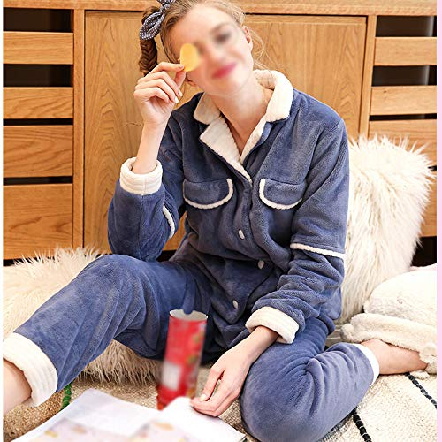 Inferiore Caldo Set Womens Top Supersoft Da Pigiama Fleece Blue Notte Pigiami Inverno Accogliente E Luxury Da Pjs Pigiama Donna YYp64q