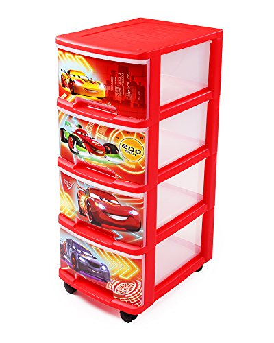 Rollcontainer kunststoff  Curver Schubladenturm mit Rollen Rollcontainer Kunststoff für A4 ...
