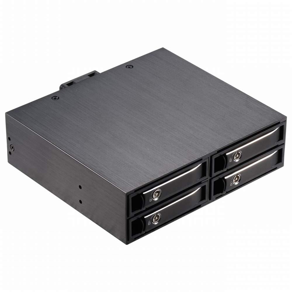 4 - Bay SATA Caso Unidad De Disco Duro De 2,5 Pulgadas En Rack Ssd ...