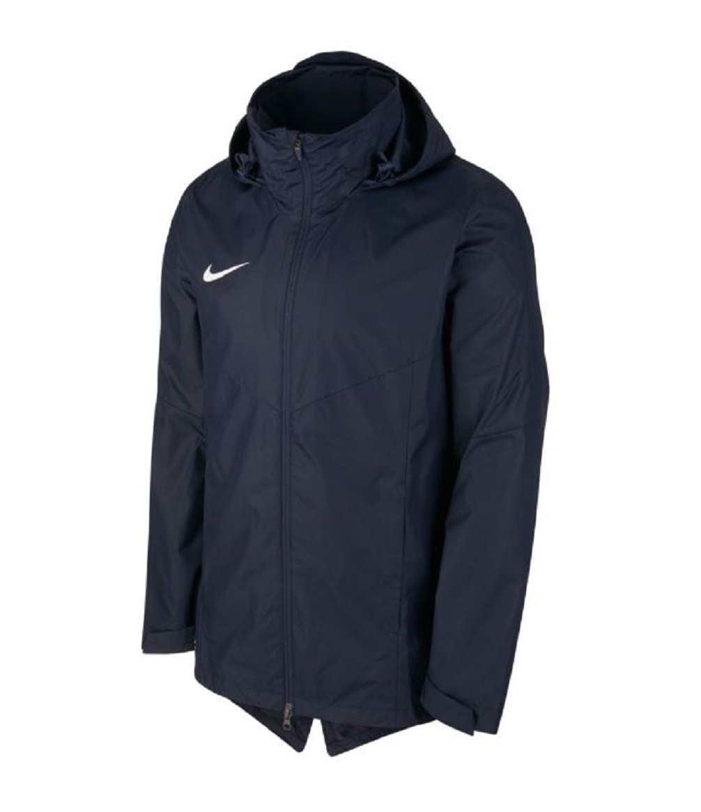 Nike Youth Repel Academy 18 Rain Jacket (Small, Obsidian/Obsidian/White)
