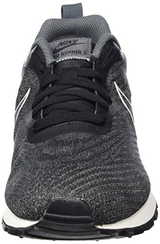 Sail Nike Ginnastica Black Grey da Uomo Runner Nero Dk Scarpe Black Basse Mesh 2 MD ENG Z4pqwFZr