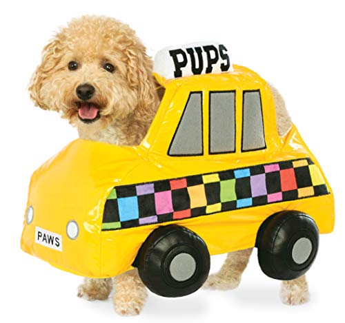 Nyc Halloween Parade Costumes - Rubie's NYC Taxi Cab Pet Costume,