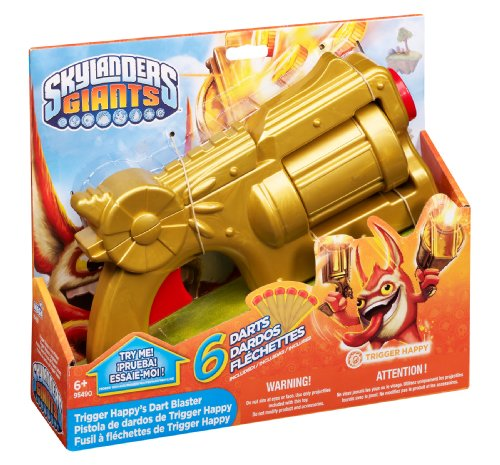Skylanders Trigger Happy's Dart Launcher (Skylander Costumes For Boys)