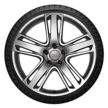 Winter Complete Wheel Set 19 Inch For Audi Rs5 Rs4 Aluminium Dunlop