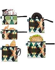 Dual Layer Reusable Sandwich Bags