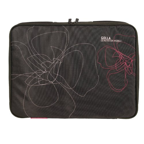 Golla Laptop Sleeve - Brown/Pink
