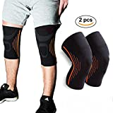 Knee Brace by Sunta, Athletics Knee Pads Protect Brace CKnee Brace by Sunta, Athletics Knee Pads Protect Brace Compression Sleeve Support, Knee Support for Running, Jogging, Sports, Joint Pain Relief,