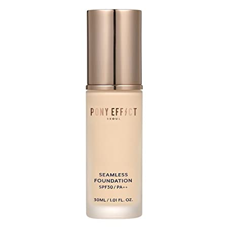 Pony Effect Seamless Foundation 30ml SPF 30 PA No.21 Natural Ivory