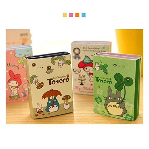 Best Quality - Memo Pads - pcs/Lot Totoro & Melody memo pad Kawaii Sticky Note Folding Post Sticker Stationery Office Accessories School Supplies F355 - by PPL21-1 PCs