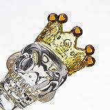 Transparent Crown Glass Taro 14MM Yellow Glass
