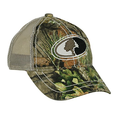 Cheapest Price! Mossy Oak Youth Camo Contrast Stitched Mesh Back Hat in Multiple Camouflage Patterns