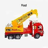 ponny Simulation Crane Trucks Builder Toys Multi-colors Plastic Construction Vehicles Crane for 5 Year Old Boys Outdoor